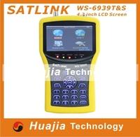 1pc Satlink WS-6939 digital satellite Terristrial Combo DVB-S / DVB-T satlink WS 6939 cable tv signal meter