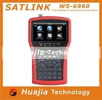 1pc Original Satlink WS-6951 DVB-S/S2 HD Satellite Finder with MPEG-2/MPEG-4 compliant and backlight Satlink 6951 Meter