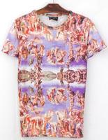 Sexy Ladies Clustering 3D Printed T-Shirt Women Men Tee Shirt Streetwear
