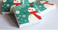Free shipping(5sets/lot,New Christmas snowman pattern sticker set,Multifunction decorative /diary sticker,45sheets/set,JY057