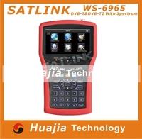 1pc Original Satlink WS6965 DVB-T&DVB-T2 With Spectrum Analyzer Finder digital meter WS-6965