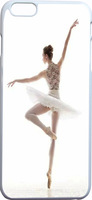 beautiful ballet dancer Hard Unique Designer Slim Pattern Thin Protective Shockproof Drop Pro Case for Iphone 6 Plus 5.5 inches