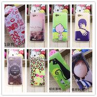 For Amoi N820 N821 plastic cute cartoon case print drawings PC cover + gift