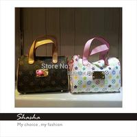 Famous brand designers womens leather handbags children girls messenger bags kids phone purses woman mini bolsas shoulder bags
