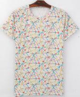 Patterns White Background 3D Printed T-Shirt Women Men Tee Shirt Streetwear