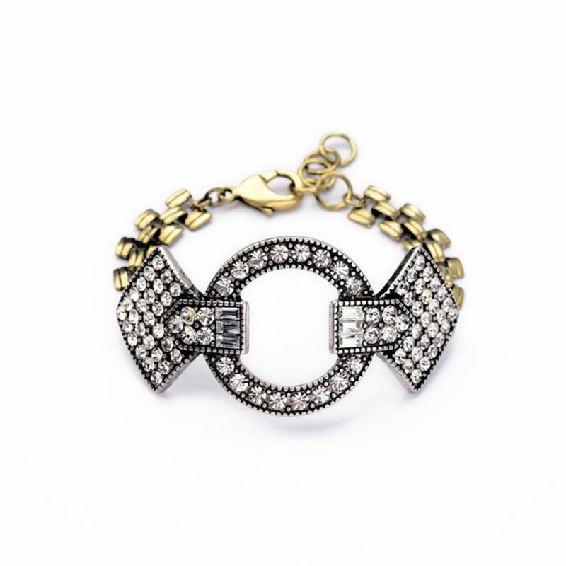 JC100 2014 New Fashion Design Bracelet Vintage Stardust Silver Crystal Bracelet Loop Pave Crystal Bracelets Free Shipping(China (Mainland))