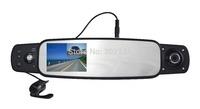 Free shipping GPS,G-sensor and SOS function H. 264 3 camera car dvr
