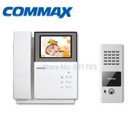 Commax Video DoorPhone System DPV-4PNC Color Door Phone Intercom Monitor +DRC-4CPN Outdoor Camera Panel Video Doorphones