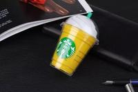 New External Battery Power Bank Starbucks Cup Design 5200 mAh Capacity Cute Power Bank External Battery Pack