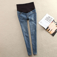 Free Shipping 2014 Fall Winter Maternity Jeans Pants For Pregnant Women Plus Size Clothing Pregnancy Clothes Motherhood 2102