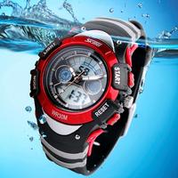 Fashion Men's Student Sports Military Digital Wrist Watches relogio masculino Chronograph Swim Dive Children Gift Wristwatch