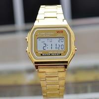 LED retro digital Electronic watches metal Men's watch wholesale spot