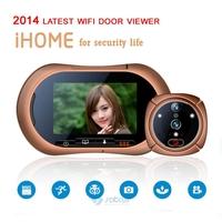 Digital Door Viewer GSM Video Peephole Camera Photo+Video+Night Vision+alarm Door Camera