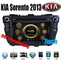 DHL freeship For KIA Sorento 2013 NEW Car DVD Player GPS Navigation Head Unit 3G IPOD Bluetooth TV RDS Canbus Steerwheel control