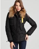 Wholesale Denali Women Masterpiece Black Down Parkas Jacket Short Winter Real Raccoon Fur Hooded Coat Outerwear Gobi Kodiak 803