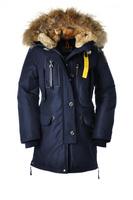 Woman Long Article Kodiak Masterpiece Navy Dark Blue Down Parka Winter Women Coat Fur Hooded Jacket GOBI Denali Long Bear 921