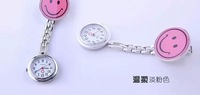 The nurse smiling face watches Cartoon watches Portable pocket watch kids watches