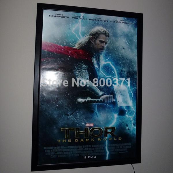Black movie poster frames