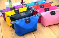 100PCS Waterproof brand Women cosmetic bags Multifunction Ladies Makeup Organizer bag Women Pouch bags Strorage Cases 13colors