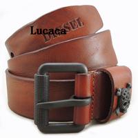 Most fashion luxury mens real leather belt men brand belts Black Cow Leather Belt Italy Style Origianl man belt DS146#56