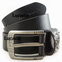 Hot Sell Men belt famous brand Handmade genuine leather Black Cow Leather Belt Italy Style Origianl man belt DS145#59