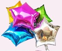 10pcs/lot foil balloon wedding decoration balloon star party balloon free shipping