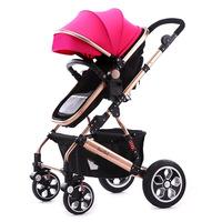 Sallei 2015 baby stroller baby car light folding baby stroller