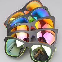 Double color coating Super cool Sunglasses women and men 2014 new travel style sun glasses ocolos de sol
