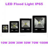 4pcs/lot Waterproof LED Flood Light 10w 20w 30w 50w 70w 100w Warm White / Cool White Outdoor Lighting,Led Floodlight