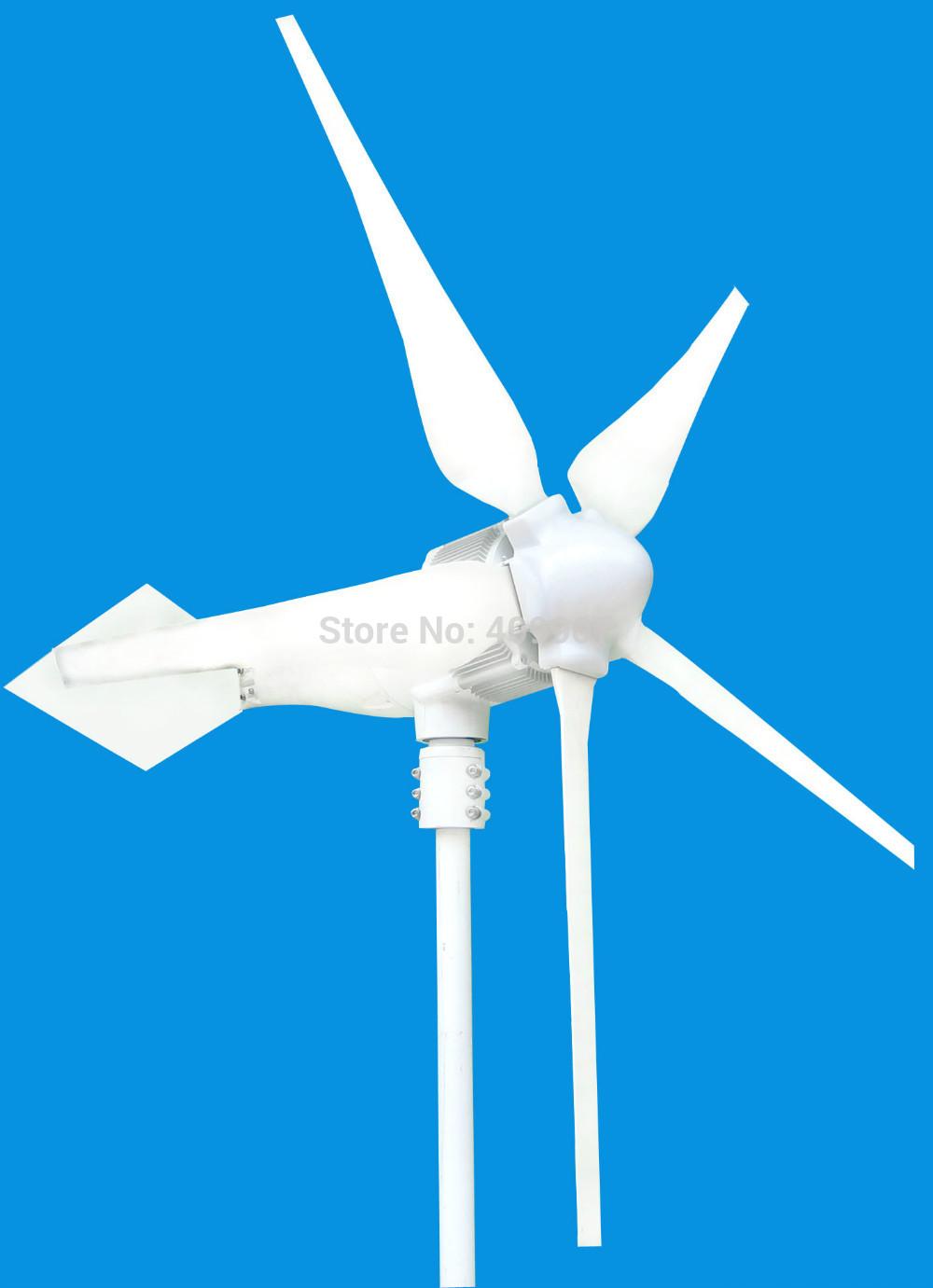 1pcs 5 blade wind turbine generator home wind power generator 800W on promotion(China (Mainland))