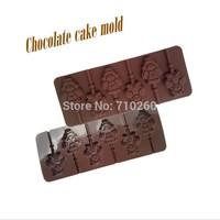 Cartoon cute, 6 even Yadamon lollipop silicone bakeware, ultra-soft, easy to mold, DIY handmade molds, chocolate mold