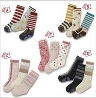 3pcs / lot Fashion cute Cartoon baby socks for boy and girl of foreign trade non-slip bottom cartoon children socks, baby socks
