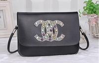 Hot Selling ! 2014 new arrival high quality  cc brand rivets bag lady's women' s  messenger bag  shoulder bag