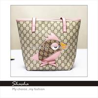 2015 Famous brand kids candy children's mini messenger bag girls coin purses women PU leather handbags ladies tote shoulder bags