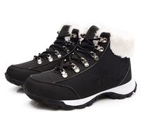 2015 HOT Style artificial Design plush fur inside women's snow boots Fashion women Winter sneaker shoes white black super cool!
