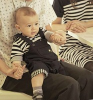 clothing set brand striped boys clothes summer kid clothes  boy sets cotton short sleeve causal suits two pieces