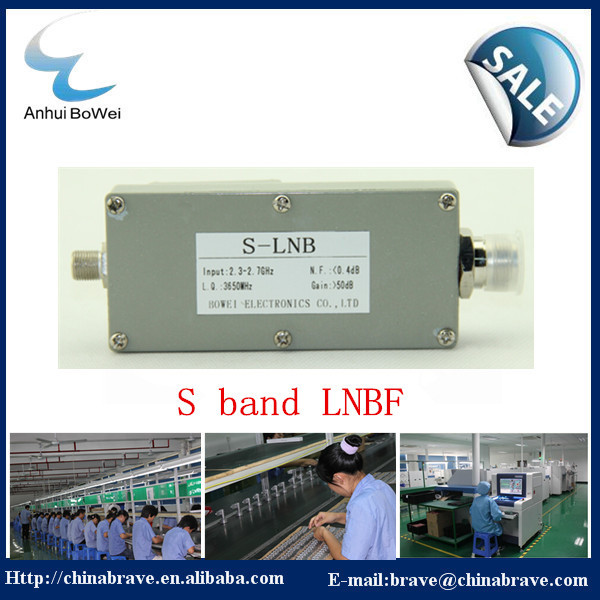 High performance Low noise digital HD LNB S band with L,O frequency 3650MHz(China (Mainland))