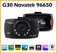 2014 New G30 Full HD Night Vision 1080P Lens 170 Degrees Car Dvr Camera Video Recorder black box H.264 Carcam Blackbox For Car