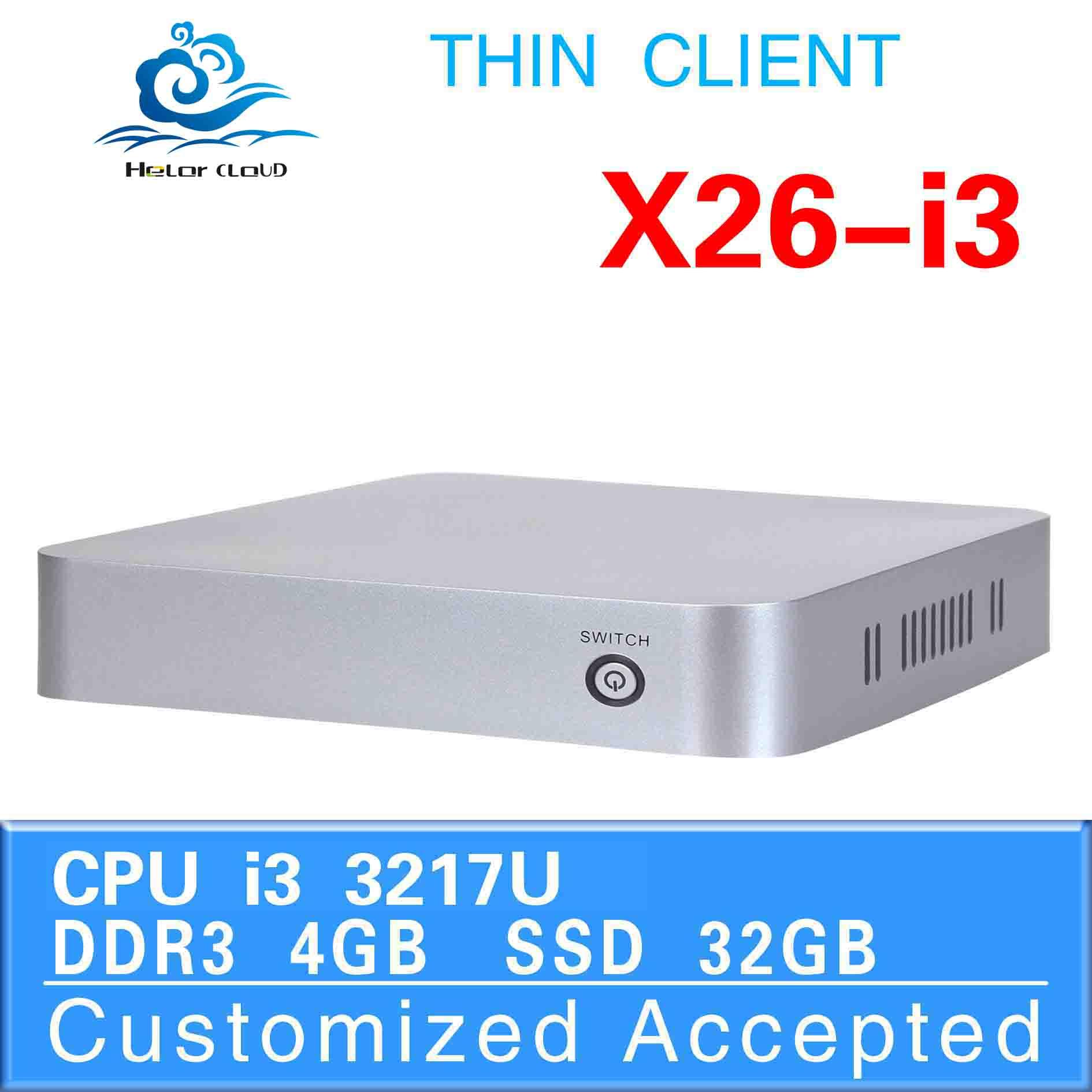 ultra-low-power X26-i3 3217u support Ubuntu Linux 12.04 board computer car computer desktop computers 4G RAM 32G SSD(China (Mainland))