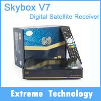 Original Skybxo V7 Digital Satellite tv Receiver S-V7 AV output VFD Support 2xUSB WEB TV USB Wifi 3G Biss Key Youporn CCCAMD