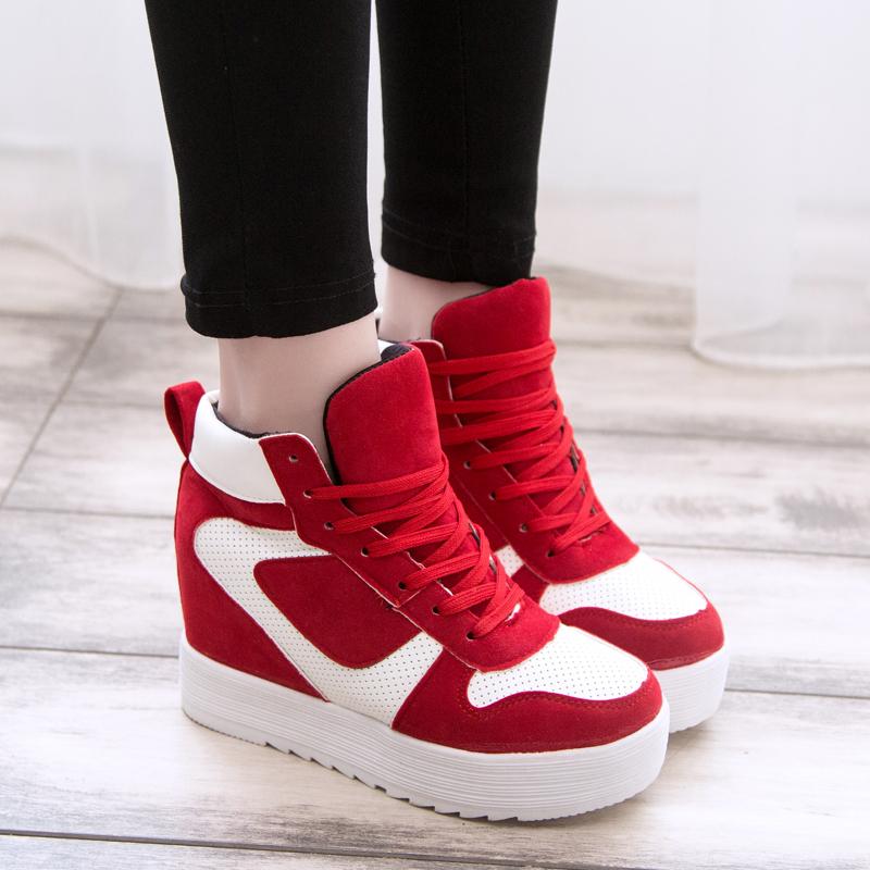 2014 autumn shoes high top casual shoes fashion