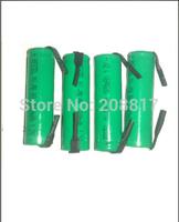 free   hongkong  post  shipping 100pcs/lot Brand NEW   NiMh AA 3000 mAh flat top battery with solder tabs
