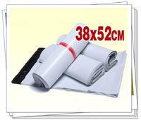 38x52cm 50pcs/lot white plastic mailing bags express bags self adhesive seal free shipping