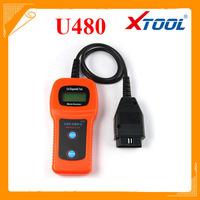 Xtool U480 OBD2 OBDII Car/Truck AUTO Diagnostic Engine Scanner Fault Code Reader
