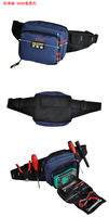FASITE Tool KIT WAIST BELT Bag Organizer Professional Electricians Tool Pouch BLUE