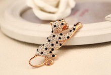bhigh quality new classic leopard luxury brooches zircon fasion women jewlery wholessales new 2014 factory price BV00001