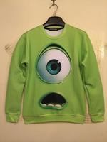 Free Shipping Sweatshirt Tracksuits Original Genuine Popular Homer 3D printing Peace Pikachu Long-sleeved Sweater