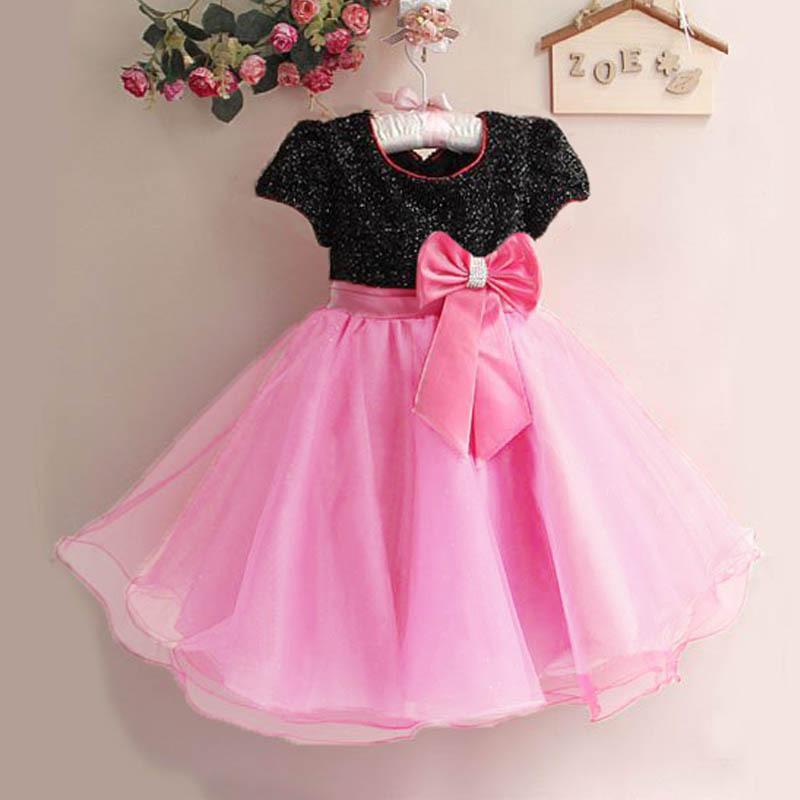 AliExpress.com Product - NEW 2014 Summer girl dress Elegant dress party baby girl princess dress children clothing free shipping many colors#KS0078