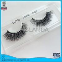 UPS Free Shipping! 100pair/lot Manufacturer hand make mink lashes silk siberia mink false eyelash extension/3D eyelash extension