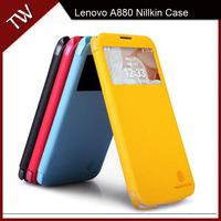 For Lenovo A880 Original Leather Flip Phone Case Nillkin Fresh Series new